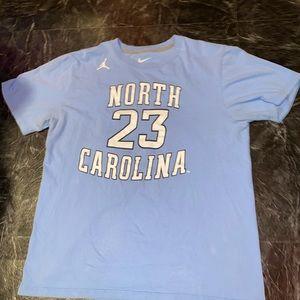 Jordan #23 NC North Carolina future start shirt.